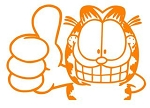 Garfield v9 Decal Sticker