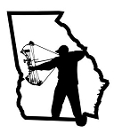 Georgia Bowhunter v1 Decal Sticker