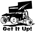 Get It Up Sprint Car Decal Sticker