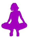 Girl Posing Silhouette v12 Decal Sticker
