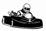 Go Kart v1 Decal Sticker