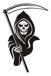 Grim Reaper v10 Decal Sticker