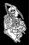Grim Reaper v1 Decal Sticker