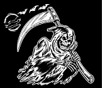Grim Reaper v3 Decal Sticker