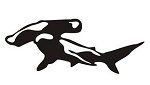 Hammerhead Shark v2 Decal Sticker
