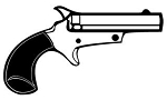 Handgun v3 Decal Sticker