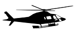 Helicopter v27 Decal Sticker