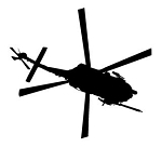 Helicopter v8 Decal Sticker