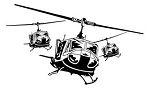 Helicopters v5 Decal Sticker