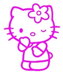 Hello Kitty v1 Decal Sticker