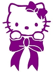 Hello Kitty v4 Decal Sticker