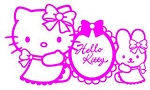 Hello Kitty v5 Decal Sticker
