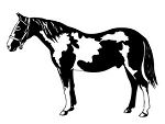 Horse v7 Decal Sticker