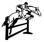 Horse Jumping v1 Decal Sticker