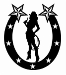 Horseshoe Design v9 Decal Sticker