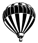 Hot Air Balloon Decal Sticker