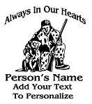 Hunter Memorial Decal Sticker