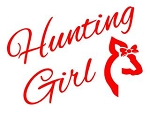 Hunting Girl Decal Sticker