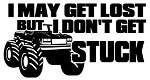I Don't Get Stuck Decal Sticker