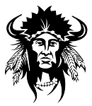 Indian Chief v10 Decal Sticker
