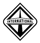 International v2 Decal Sticker