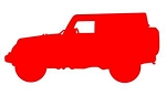 Jeep Silhouette v2 Decal Sticker