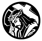 Jesus v4 Decal Sticker