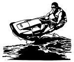 Jet Skiing Decals Stickers