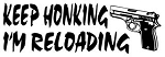 Keep Honking Decal Sticker