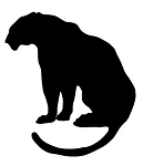Lion Silhouette v9 Decal Sticker