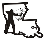 Louisiana Bowhunter v1 Decal Sticker