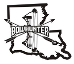 Louisiana Bowhunter v2 Decal Sticker