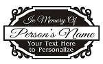 Memorial Design v3 Decal Sticker