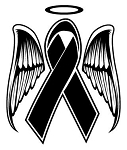 Memorial Ribbon Decal Sticker