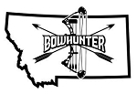 Montana Bowhunter v2 Decal Sticker