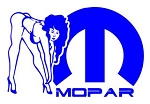 Mopar Girl v1 Decal Sticker