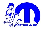 Mopar Girl v4 Decal Sticker
