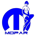 Mopar Girl v5 Decal Sticker