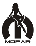 Mopar Girl v6 Decal Sticker