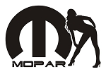 Mopar Girl v7 Decal Sticker