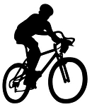 Mountain Biking v2 Decal Sticker
