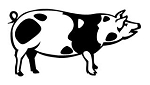 Pig v2 Decal Sticker