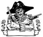 Pirate v5 Decal Sticker