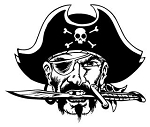 Pirate v8 Decal Sticker