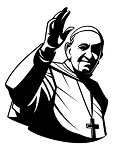 Pope Francis Decal Sticker
