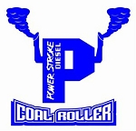 Power Stroke Coal Roller v5 Decal Sticker
