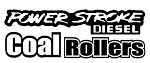 Power Stroke Coal Rollers v4 Decal Sticker