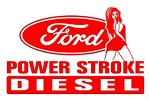 Power Stroke Girl v5 Decal Sticker