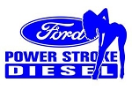 Power Stroke Girl v6 Decal Sticker