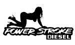 Power Stroke Girl v7 Decal Sticker
